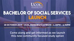 Bachelor of Social Services Launch