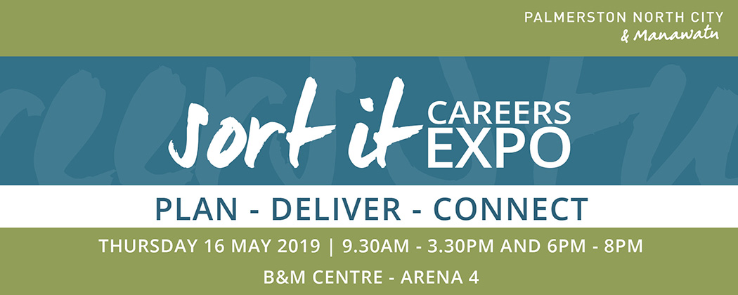 Sort it Careers Expo promotional graphic