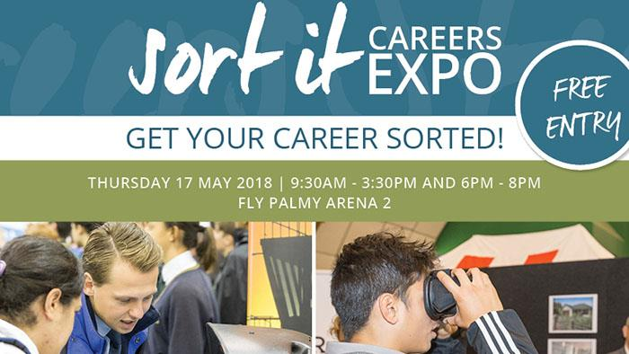 Sort it Careers Expo promotional banner