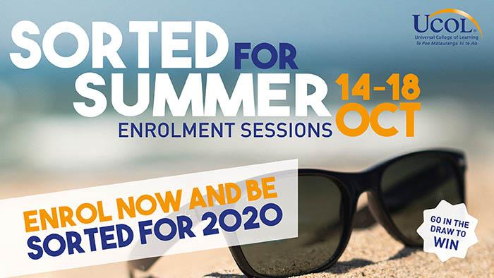 Summer Enrolment Session