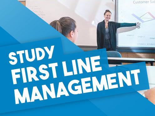 Study New Zealand Certificate in Business (First Line Management) online