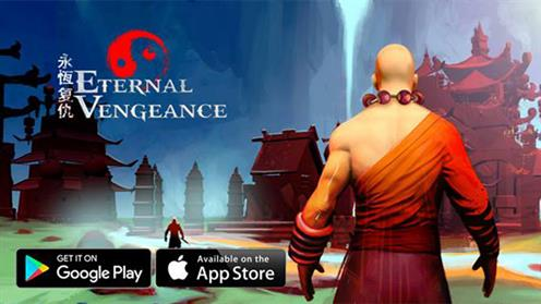 A screenshot of a graphic from the Eternal Vengeance game by Anirudh Cheruvu