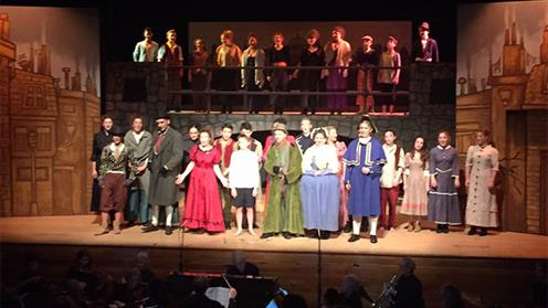 Oliver production at Wanganui Collegiate