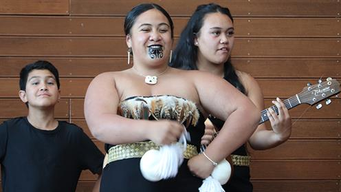 Team Te Ahi Kaea perfomance at UCOL Flavour of Cultures 2019