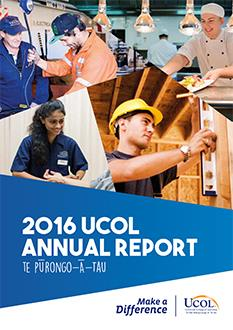 UCOL's 2016 Annual Report