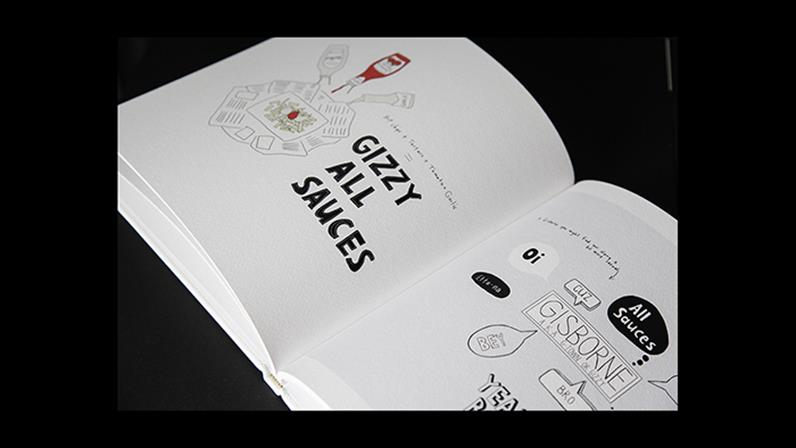 Book design - second year creative student Sarah McFadyen