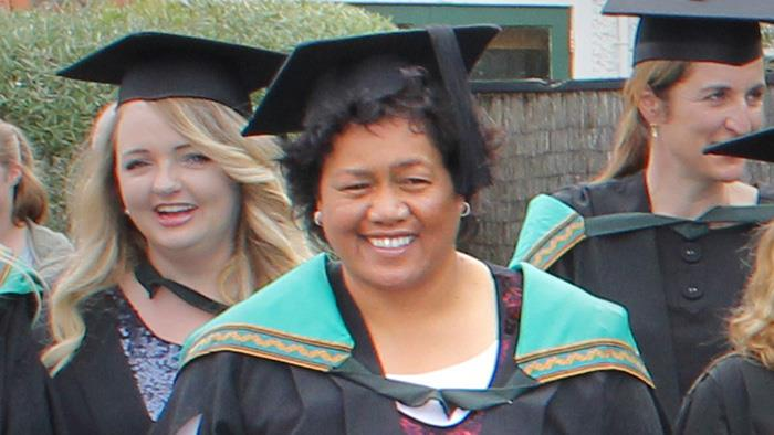 Bachelor of Nursing Graduate at graduation