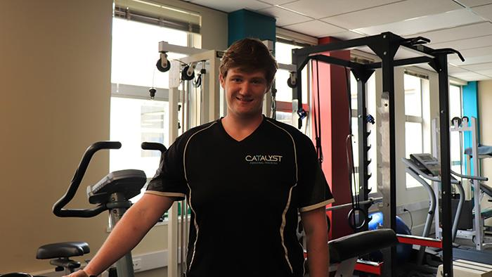 A photograph of UCOL Exercise Graduate Josh Everson.