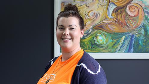 A photograph of UCOL Senior Student Success Advisor Laura Bradley.