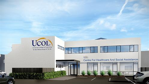 The proposed UCOL Education Centre for Healthcare and Social Assistance building